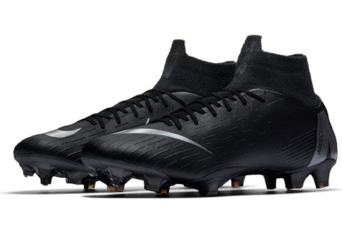 Nike Mercurial Superfly 6 Pro FG - Black/ Black