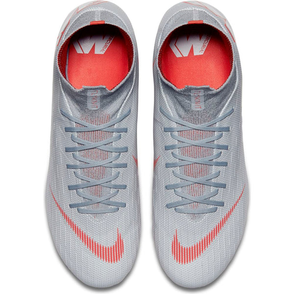Nike Mercurial Superfly 6 Pro FG - Grey/Red