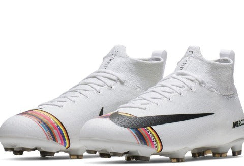 Nike Jr Superfly 6 Elite FG - Pur Platinum/ Black/ White