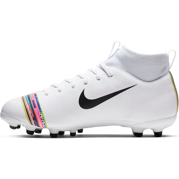 Nike Jr Superfly 6 Academy GS FG/MG - Pure Platinum/ Black/ White
