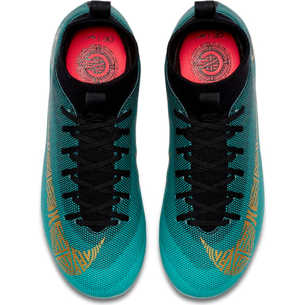 Nike Jr Superfly 6 Academy GS CR7 MG - Jade/Gold