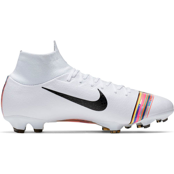 Nike Superfly 6 Pro FG - Pure Platinum/ Black/ White