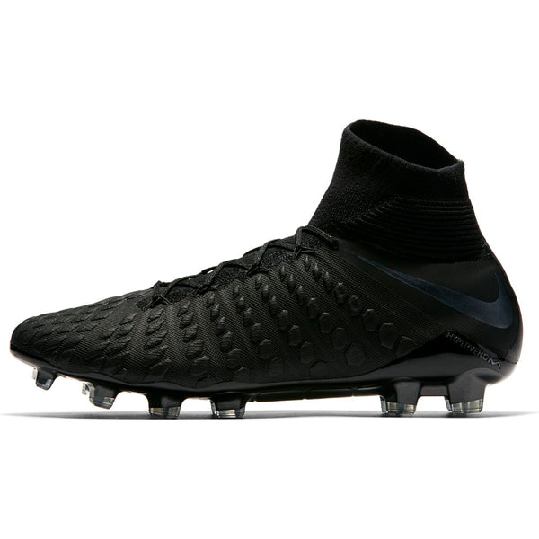 Nike Hypervenom Phantom 3 Elite DF FG - Black/Black