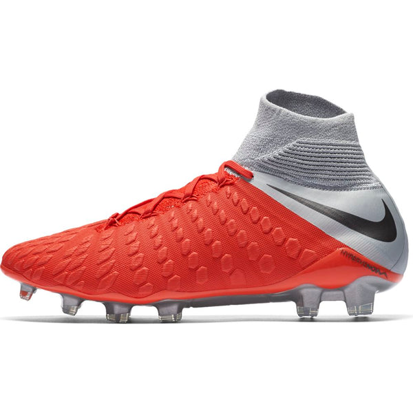 Nike Hypervenom Phantom 3 Elite DF FG - Light Crimson/ Metallic Dark Grey/ Wolf Grey