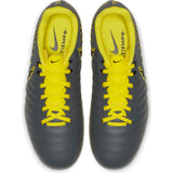Nike Jr Tiempo Legend 7 Academy FG - Carbon Grey/ Caution Yellow