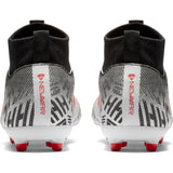 Nike Jr Superfly 6 Academy NJR FG/MG - White/Challenge Red/Black