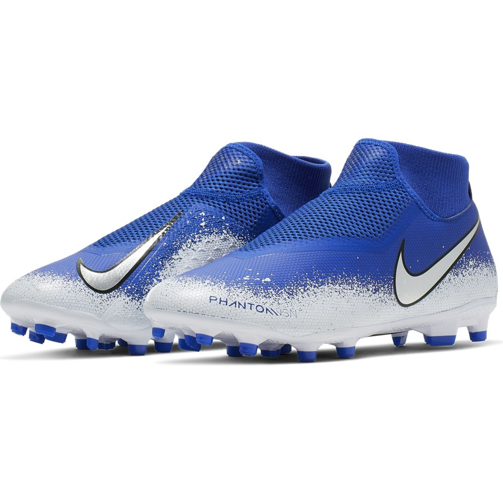 buy popular 04603 92331 Nike Phantom VSN Academy DF FG MG - Racer Blue  Chrome  White ...