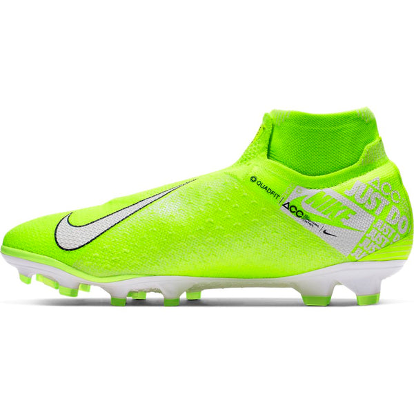 Nike Phantom VSN Elite DF FG - Volt/White