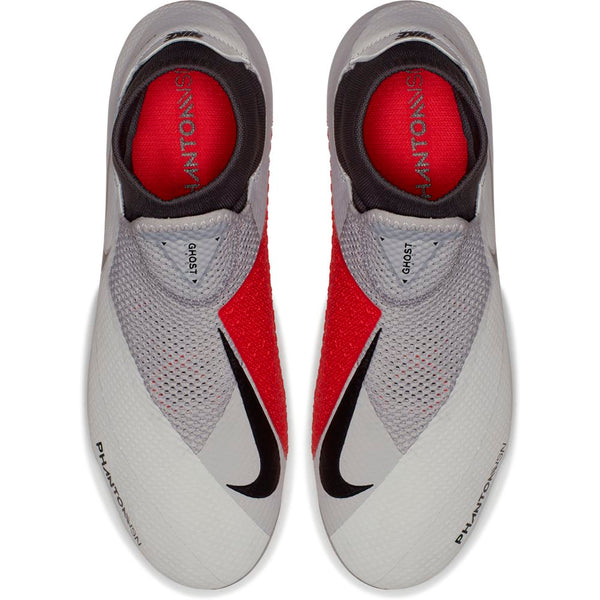 Nike Phantom Vision Pro DF FG - Pure Platinum/ Black/ Light Crimson/ Dark Grey