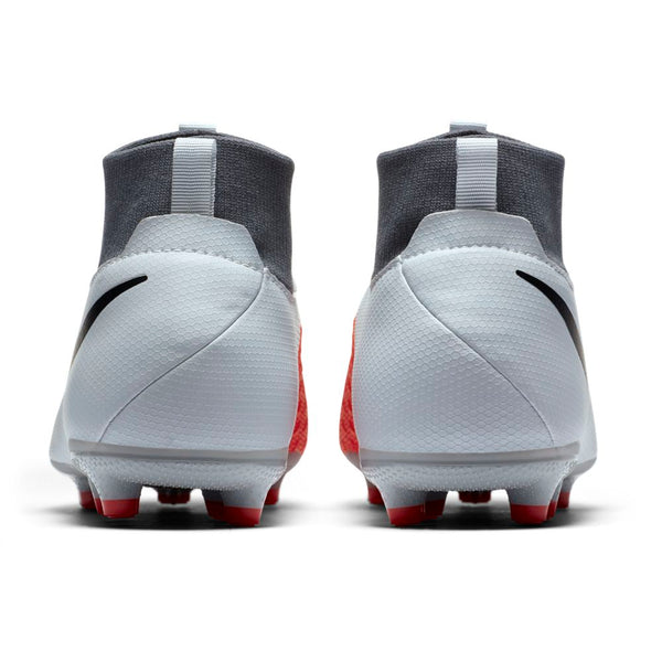 Nike Jr Phantom Vision Academy DF FG/MG - Pure Platinum/ Black/ Light Crimson/ Dark Grey