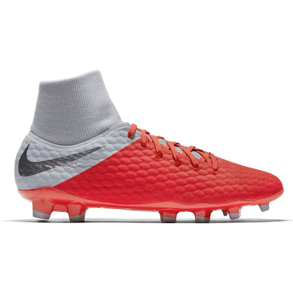 Nike Hypervenom Phantom 3 Academy DF FG - Light Crimson/ Metallic Dark Grey/ Wolf Grey