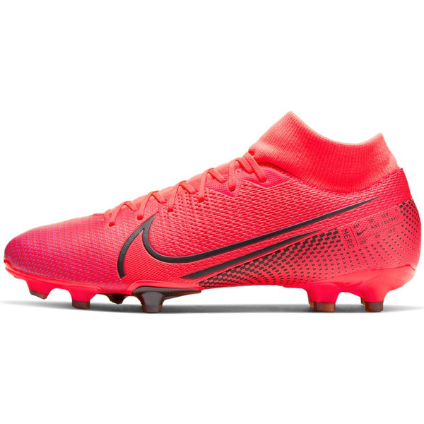 NIKE MERCURIAL SUPERFLY 7 ACADEMY FG/MG - LASER CRIMSON/BLACK