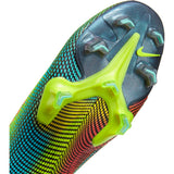 NIKE MERCURIAL SUPERFLY 7 ELITE MDS FG - LEMON VENOM/BLACK-AURORA GREEN