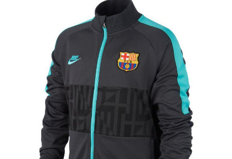 NIKE BARCELONA I96 JACKET 2019/20 - TURQUOISE/DARK GREY