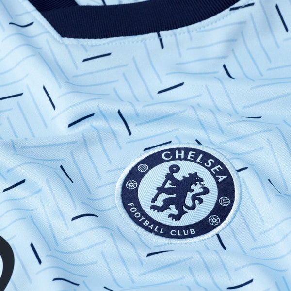 NIKE CHELSEA YOUTH AWAY JERSEY 2020/21 - COBALT TINT/BLACKENED BLUE