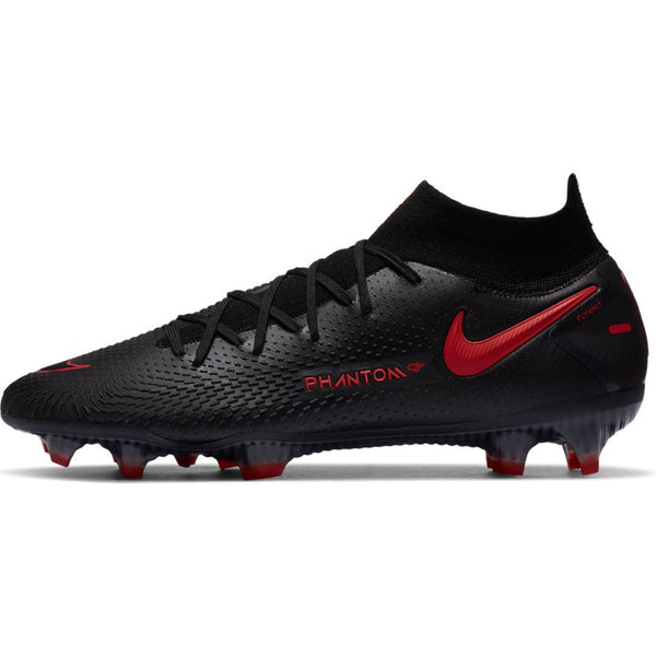 Nike Phantom GT Elite DF FG Black Chili red dark smoke grey