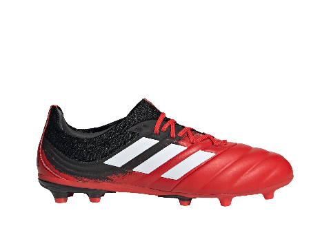 ADIDAS COPA 20.1 FG - RED/WHITE/BLACK
