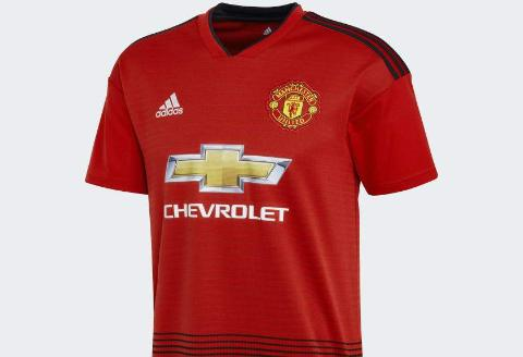 Adidas Manchester United Home Youth Jersey - 2018/19