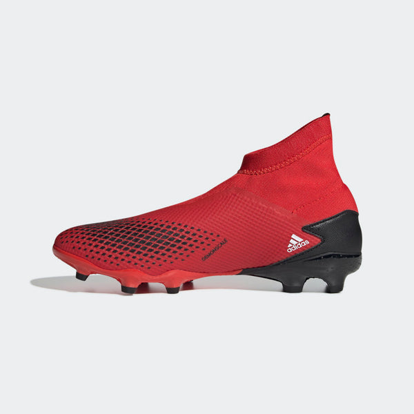 ADIDAS PREDATOR 20.3 LL FG J - RED/WHITE/BLACK