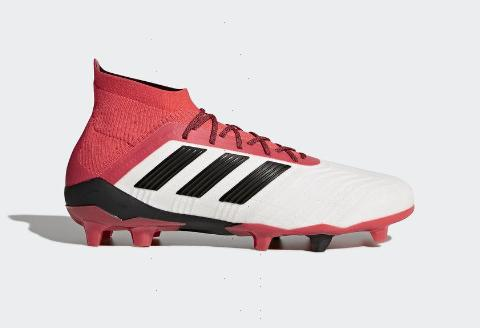 Adidas Predator 18.1 FG - Running White/ Core Black/ Real Coral
