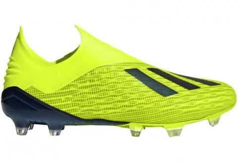 Adidas X 18+ FG - Solar Yellow/ Core Black/ Cloud White