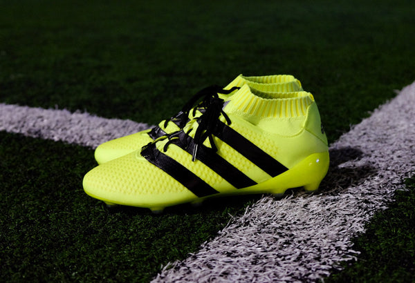 adidas ace 16.1 primeknit fg solar yellow black