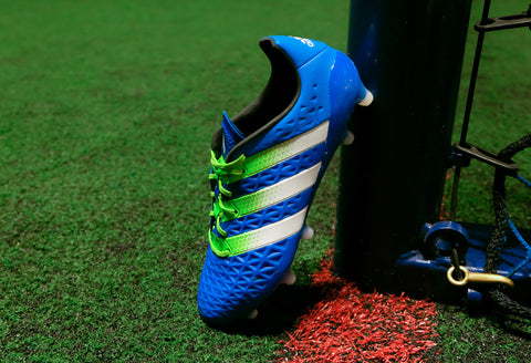 adidas ace 16.1 fg ag shock blue white green