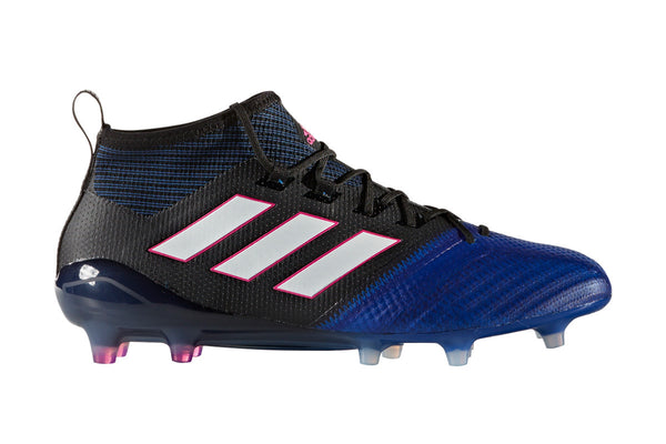 adidas ace 17.1 primeknit fg blue black white side