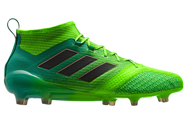 adidas 17.1 ace primeknit fg green black side