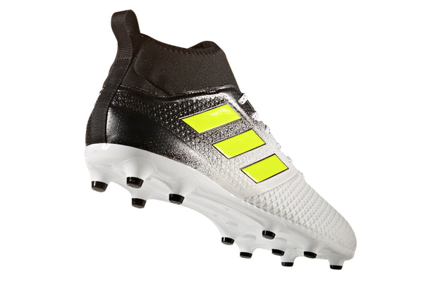 adidas ace 17.3 white yellow black heel