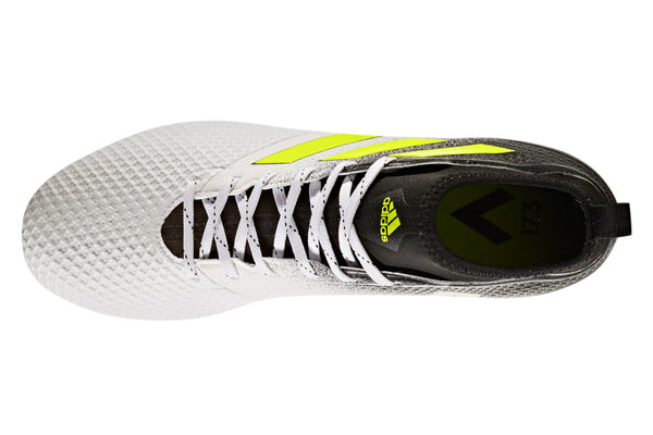 adidas ace 17.3 white yellow black laces