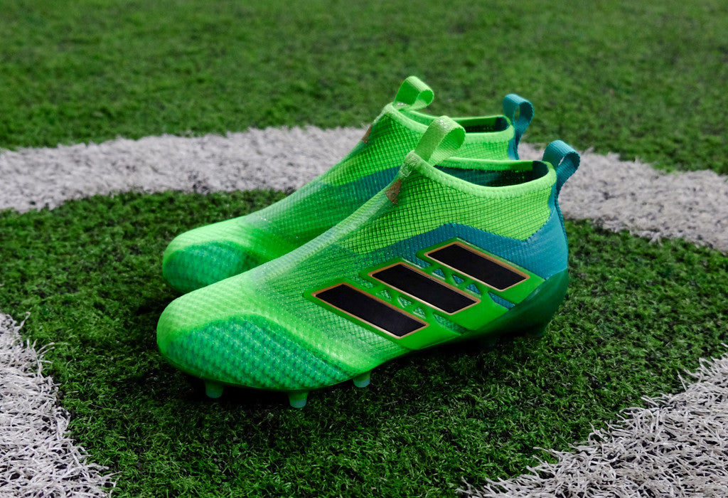 adidas 17 ace purecontrol green black ...