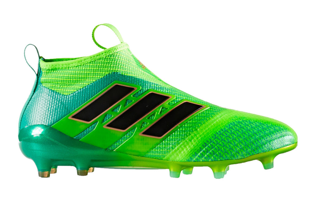 more photos a6660 e9b1b Adidas Ace 17+ Purecontrol FG - Green/ Black