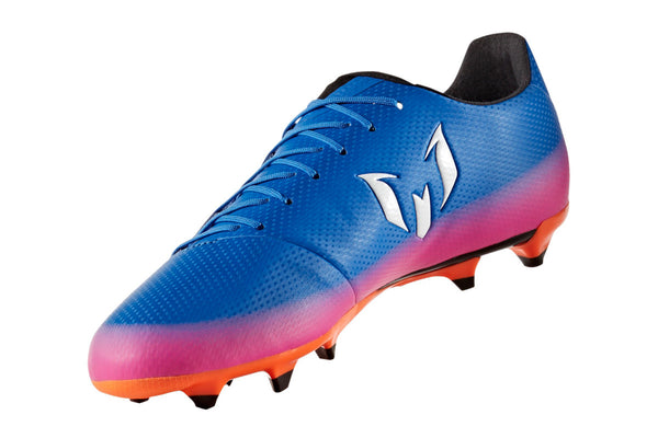 adidas messi 16.3 fg blue white orange pink instep