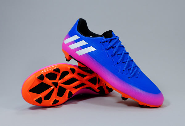 adidas messi 16.3 fg blue white orange pink