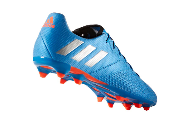 adidas messi 16.3 fg shock blue metallic silver