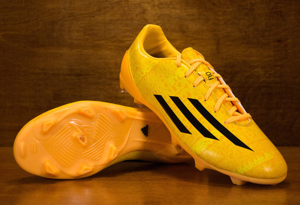 Adidas F10 Messi FG Neon Orange Black
