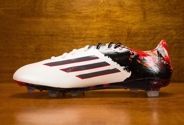 Adidas Messi 10.1 FG Pibe de Barr10 White Black Red