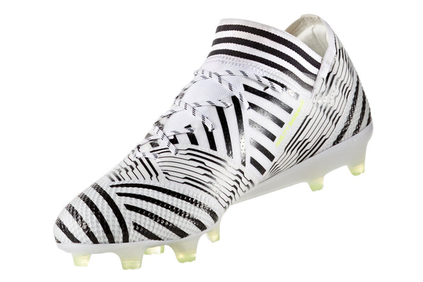 adidas nemziz 17.1 white black yellow instep