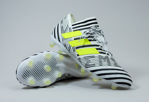 adidas nemziz 17.1 white black yellow