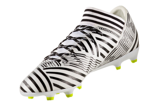 adidas 17.3 nemeziz white black yellow instep