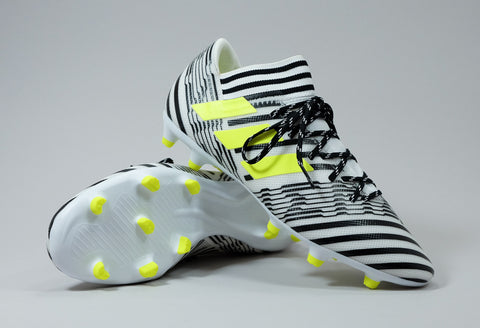 adidas 17.3 nemeziz white black yellow