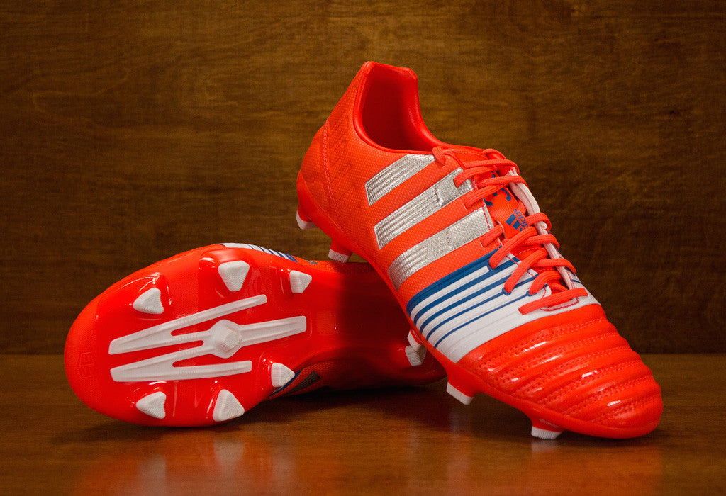 finest selection 73aa4 51285 Adidas Nitrocharge 3.0 FG - Solar Red  Silver  Blue   East Coast Soccer Shop