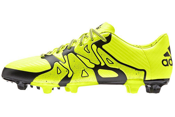 adidas x 15.3 fg ag solar yellow black side