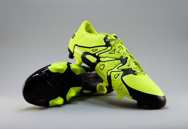 adidas x 15.3 fg ag solar yellow black