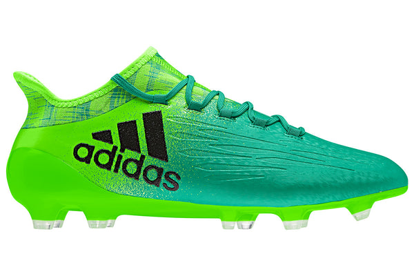 adidas x 16.1 fg green black side