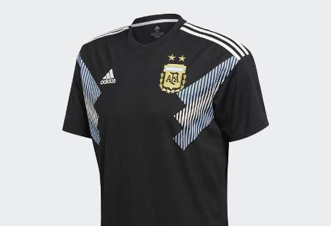 Adidas Argentina Away Jersey 2018 - Black/White