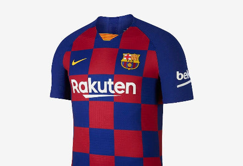 Nike Barcelona Home Jersey 2019/20 - Red/Blue