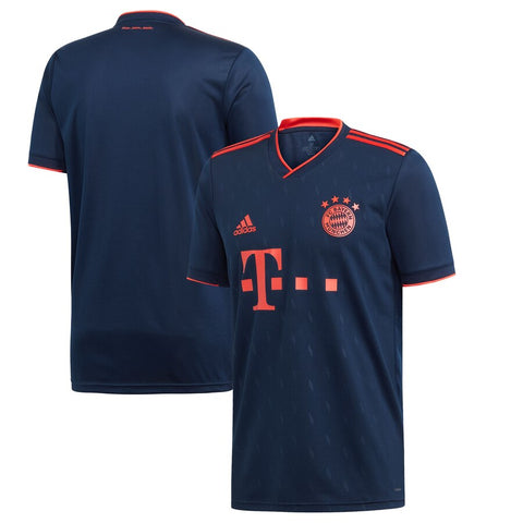 Adidas Bayern Youth Third Jersey 2019/20 - Collegiate Navy / Bright Red