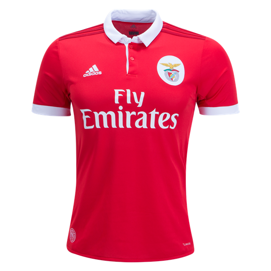 Adidas Benfica Home Jersey - 2017/18